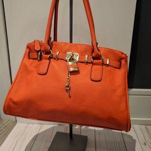 Aldo orange shoulder bag